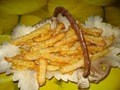 Сырное печенье из творожного слоеного теста от katico
