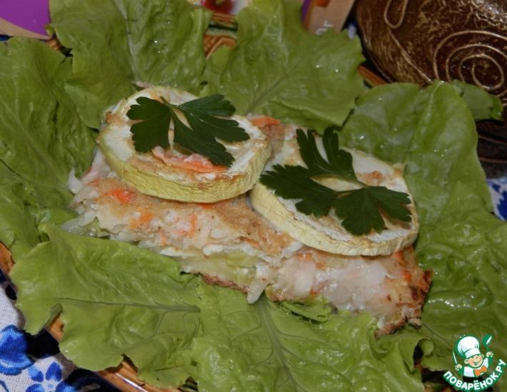 Рецепт: Кугель с молодыми овощами