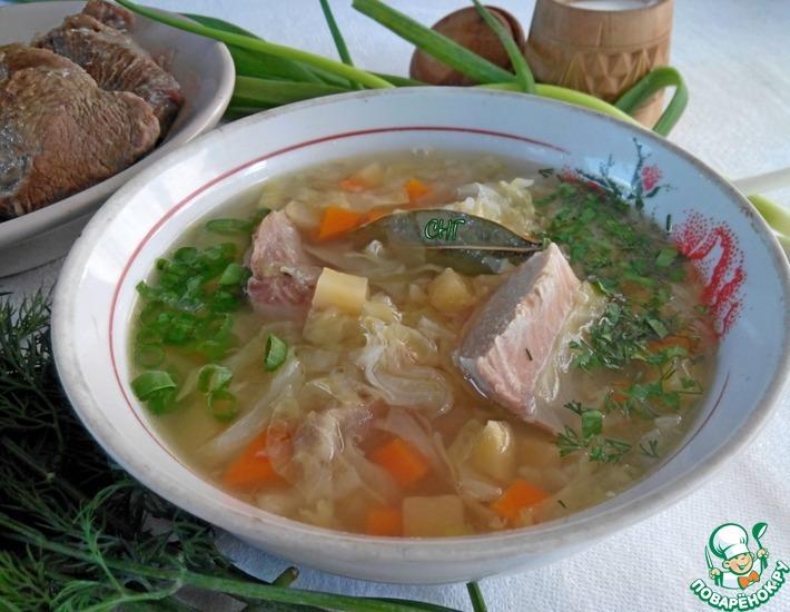 Рецепт: Суп Карла V