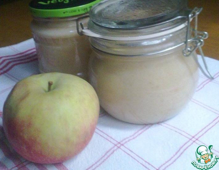 Рецепт: Пюре яблочное Неженка