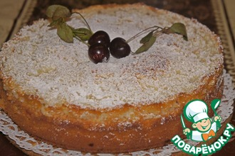 Рецепт: Пирог Вишневый шик