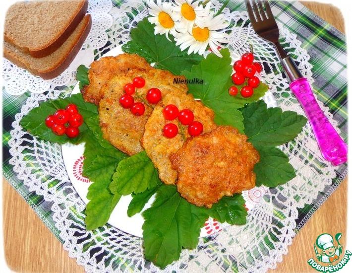 Рецепт: Отбивные в яично-гречневом кляре