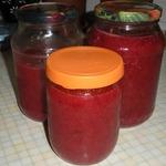 Красная смородина, протертая с сахаром