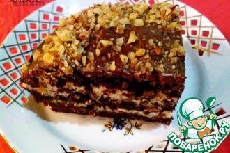 Рецепт: Торт Прага от Людмилы