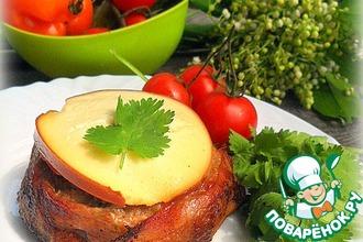 Рецепт: Фаршированные мясные кексы на гриле