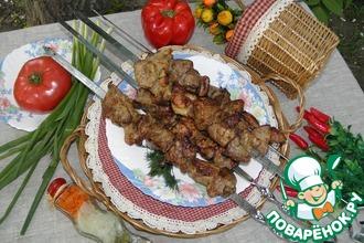 Рецепт: Шашлык из свинины Для семьи