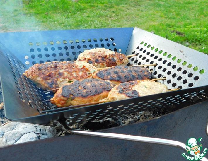 Рецепт: Кефта на сковороде-гриль