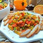 Салат в марокканском стиле