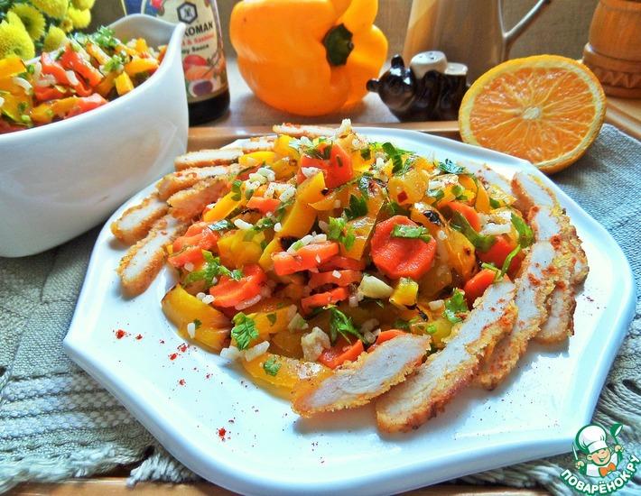 Рецепт: Салат в марокканском стиле