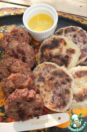 """Картофельные лепёшки с томатом """"Копчёные"""" – кулинарный рецепт"""