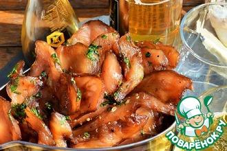 Рецепт: Куриные чипсы к пиву