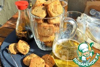 Рецепт: Сырное печенье к пиву