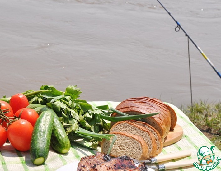 Рецепт: Свинина-гриль Мечта гурмана