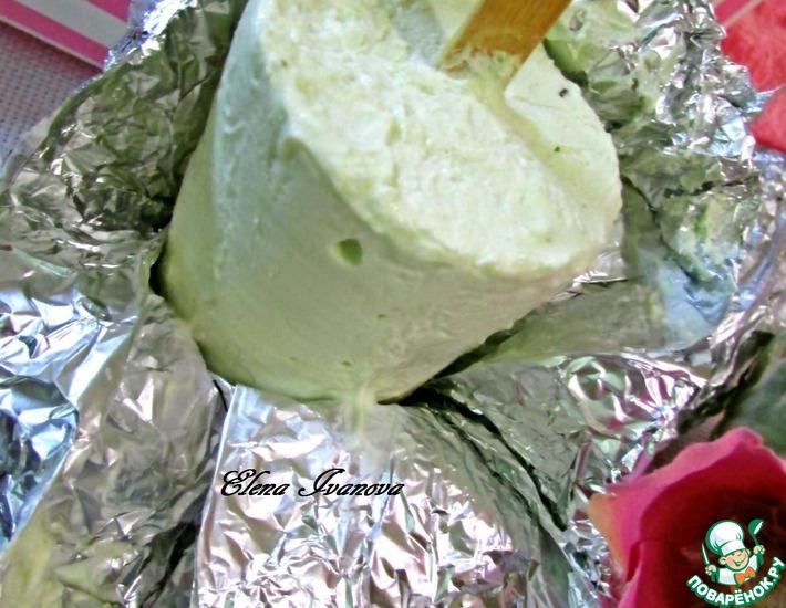 Рецепт: Мятное эскимо со вкусом Тирамису