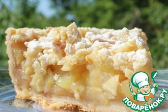 Рецепт: Австралийский яблочный пирог