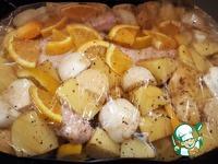Апельсиновая утка с картофелем в рукаве ингредиенты
