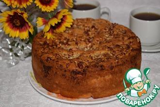 Рецепт: Пирог медовый Душевный