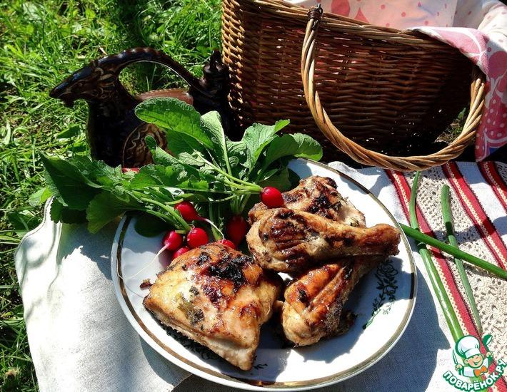 Рецепт: Шашлык куриный Самый вкусный
