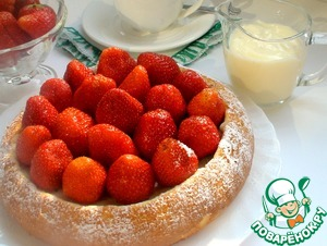 Cottage cheese casserole without flour and semolina