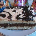 Бисквитный торт Мурчик