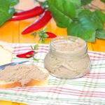 Диетический мясной паштет без сливочного масла