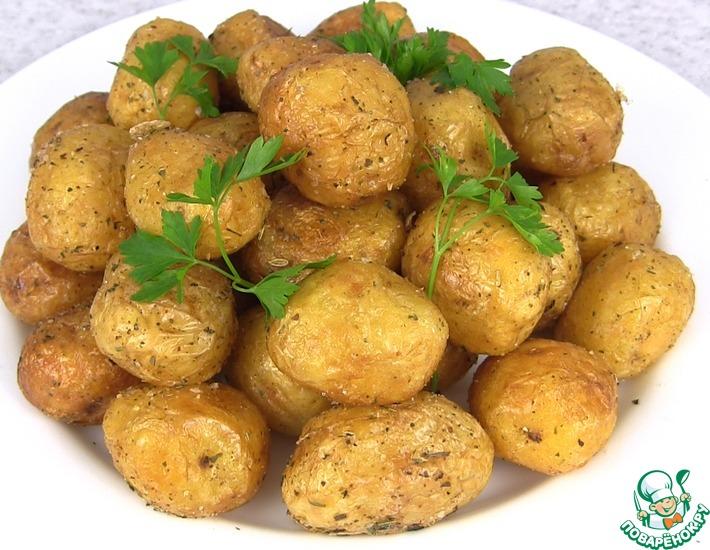 Кулинарный рецепт из молодой картошки #10