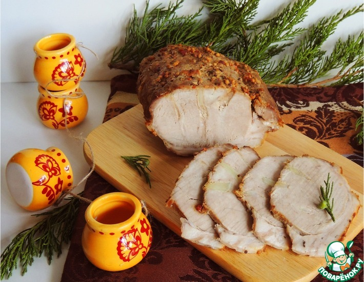Рецепт: Буженина Горчичная