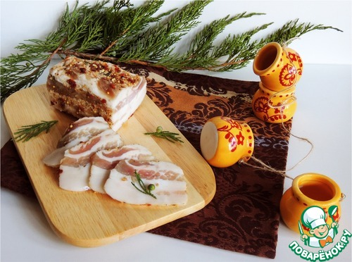 """Грудинка """"Магазинная"""" – кулинарный рецепт"""
