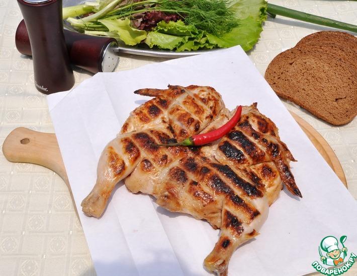 Рецепт: Цыплёнок А-ля тандури