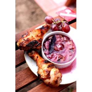 Виноградный соус для шашлыка из курицы
