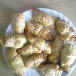 Рогалики с колбасным сыром