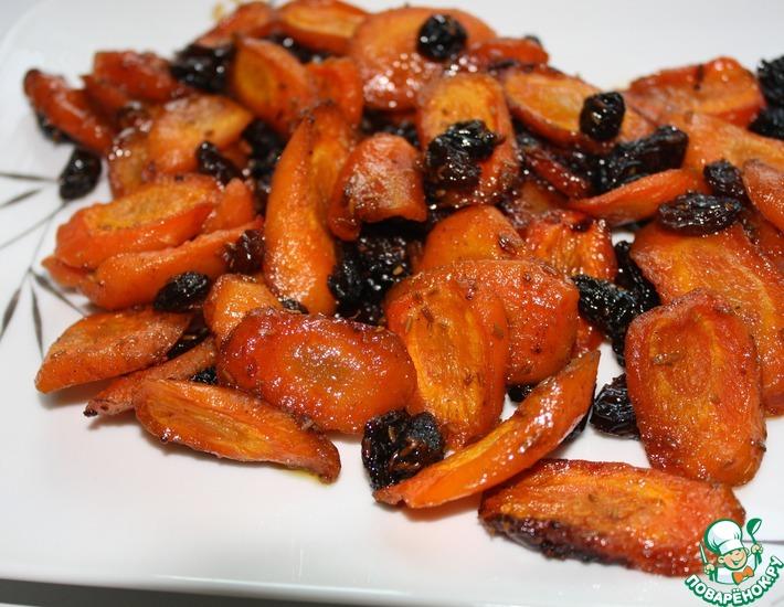 Рецепт: Морковь в масле