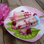 Мороженое с ягодами и овсяными хлопьями – кулинарный рецепт