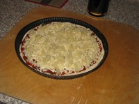 Тонкая пицца без соли и сахара ингредиенты