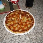 Тонкая пицца без соли и сахара