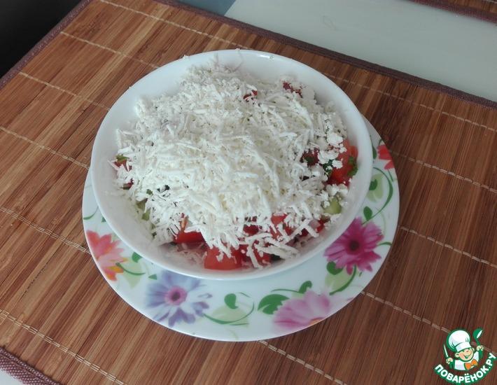 Рецепт: Шопский салат