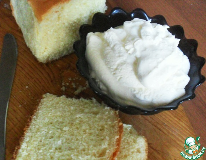 Рецепт: Домашний сыр а-ля Маскарпоне