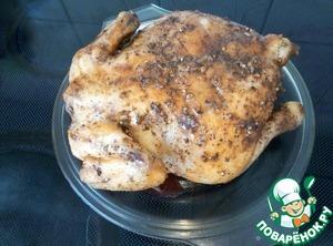 Курица гриль в микроволновке - пошаговые рецепты с фото