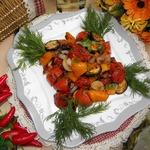 Овощи барбекю Отдых на природе