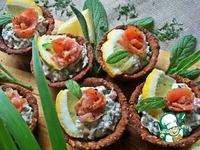 Хлебные корзиночки с сырно-рыбной начинкой ингредиенты