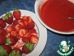 Десерт из клубники и творога - 7 пошаговых фото в рецепте