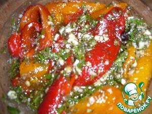Закуска из овощей в маринаде – кулинарный рецепт