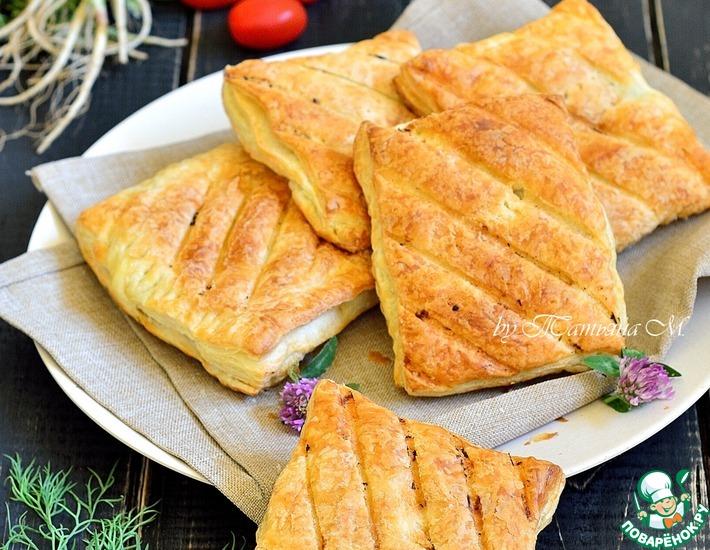 Рецепт: Гриль-закуска из кабачка в тесте