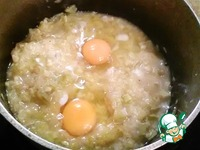 Кабачки тушенные с яйцом ингредиенты