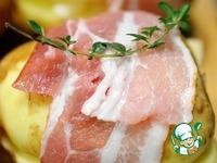 Запеченный картофель с сырной начинкой ингредиенты
