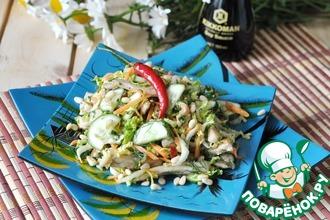 Рецепт: Вьетнамский овощной салат со свининой