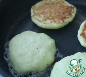 Творожно-кабачковые оладьи, пошаговый рецепт, фото, ингредиенты - Натали