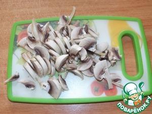 Кабачковые оладьи с грибами и луком рецепт с фото