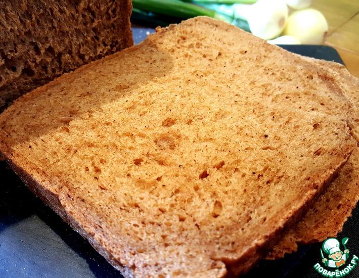 Рецепт: Пшеничный хлеб на пиве