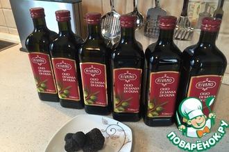 Рецепт: Трюфелевое масло